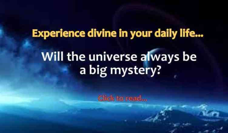 Universe and God Quotes