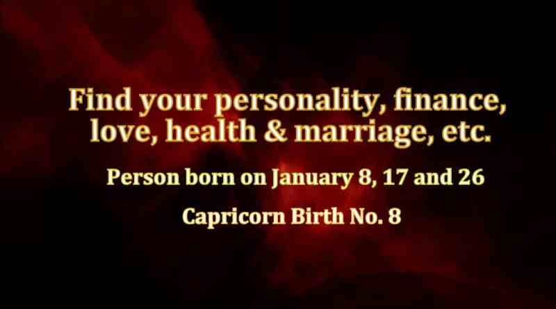 January birthday personality Birth Number 6 Archives - Life