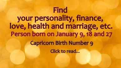 January Birhtday Personality