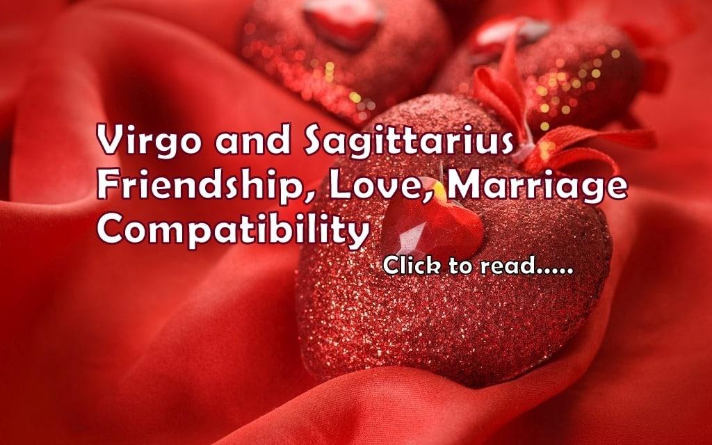 Virgo Sagittarius Friendship, Love, Marriage Compatibility