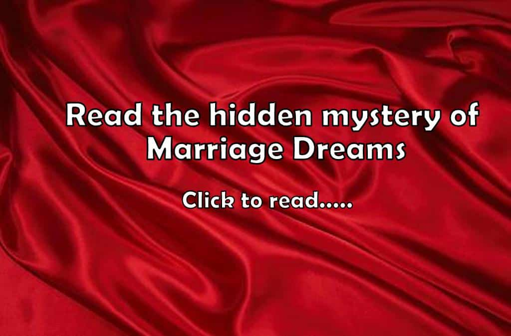 21+ Marriage Dream Meaning