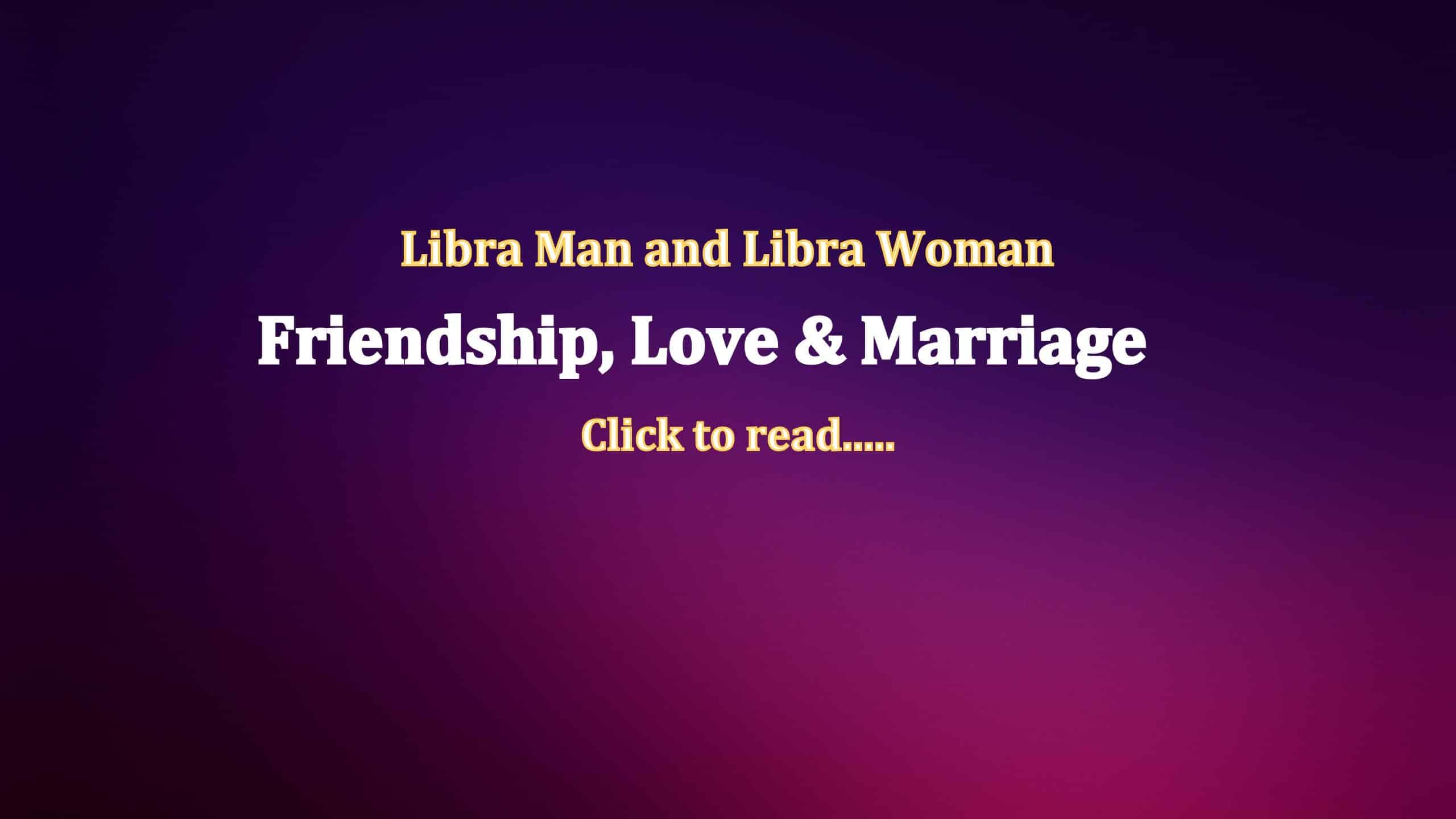 man libra woman libra compatibility
