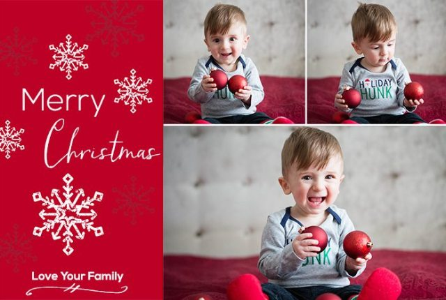 Christmas 2014 Free Template Example