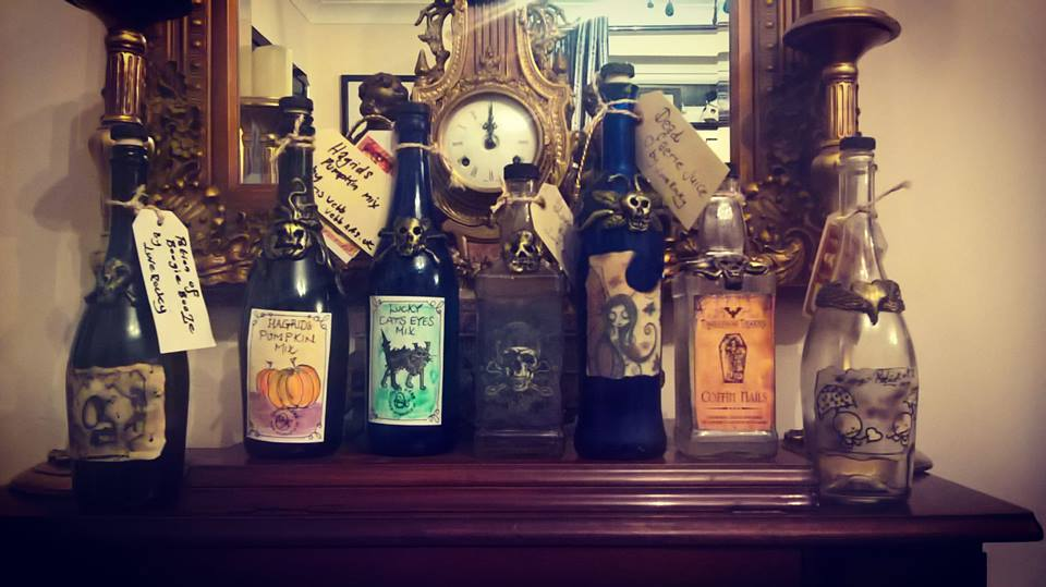 James Waterfield's Poison Bottles