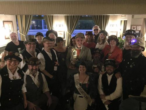 The Gosport Steampunk Society and Holmes Fest