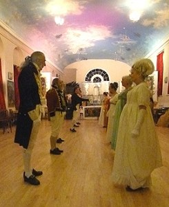 The Hampshire Regency Dancers recreate the ball in which Charles Dickens decided it was time to come into the world!
