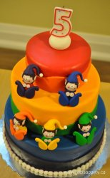 Rainbow Elves Birthday