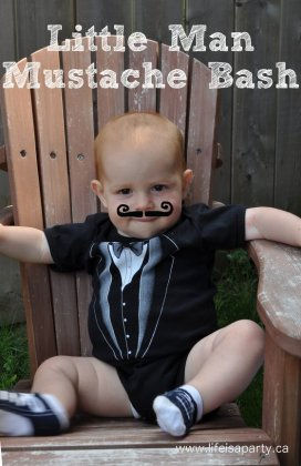 Little Man Mustache Bash