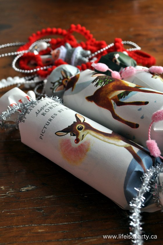 Vintage Inspired Christmas Crackers