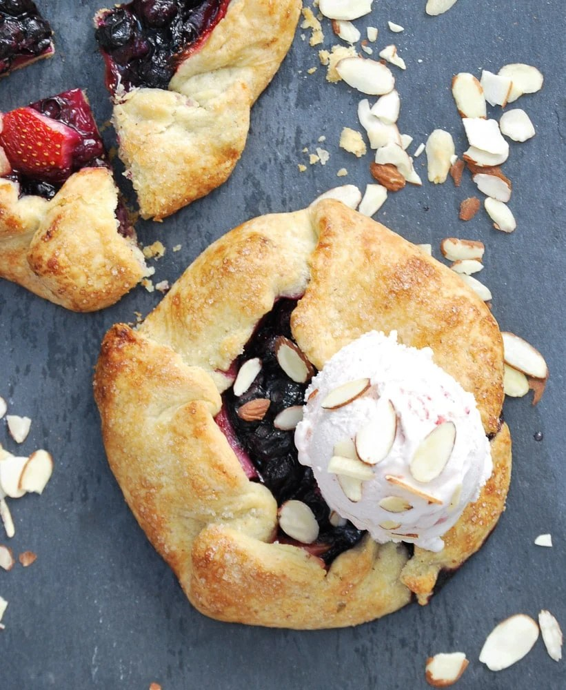Almond Berry Gallette-12