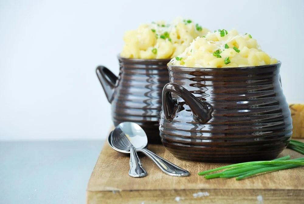Cauliflower Mac and Cheese-4