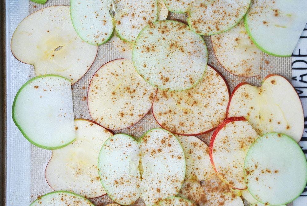 Baked Apple Chips-4