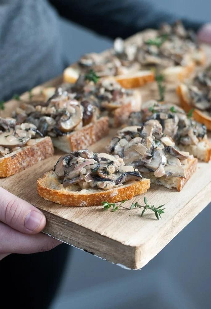 Mushroom Toasts-7