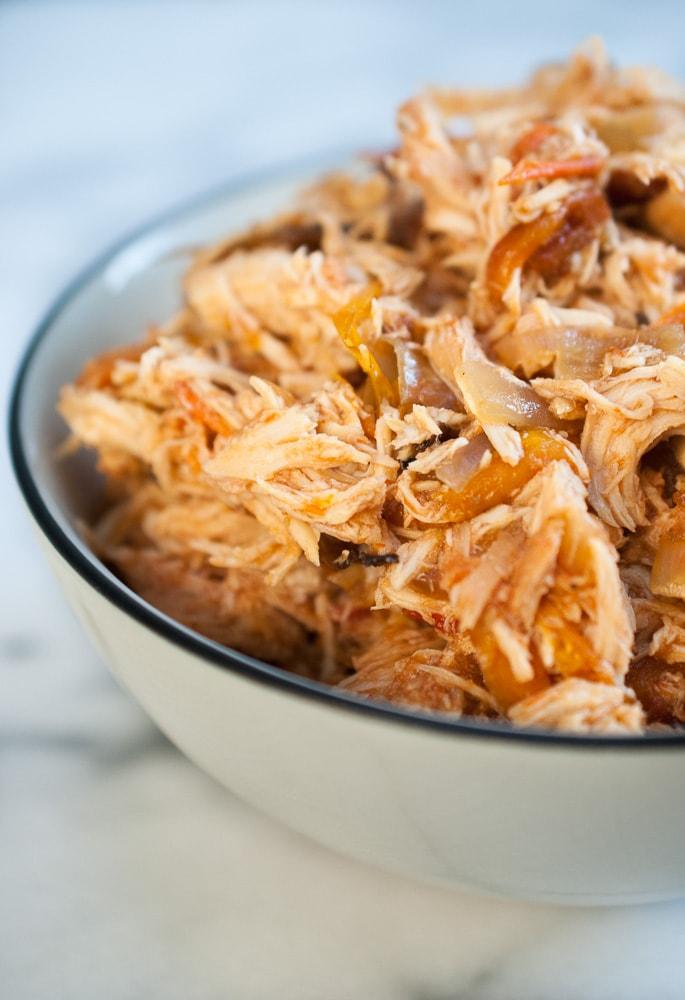 Easy Slow Cooker Chicken Fajitas-2