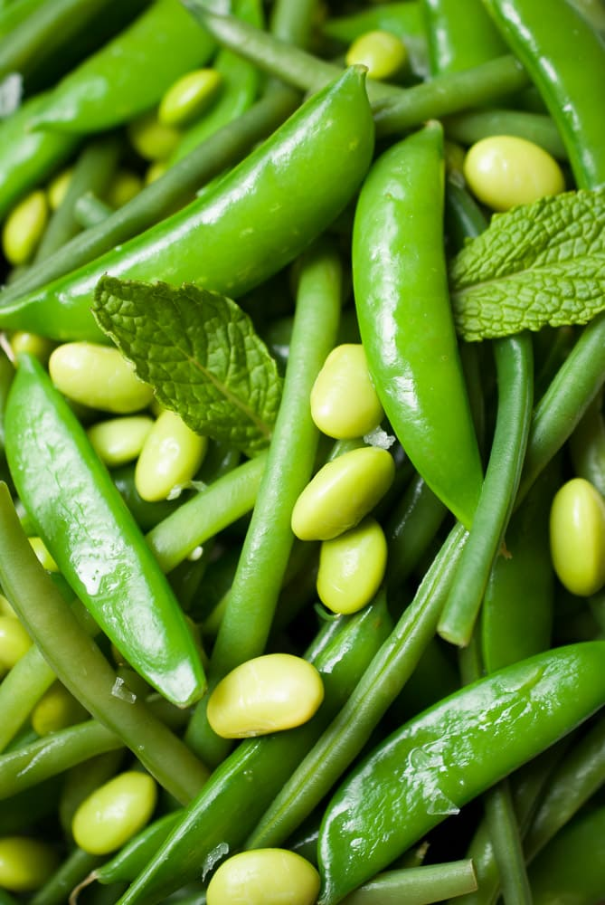 Simple Snap Pea & Green Bean Salad-6