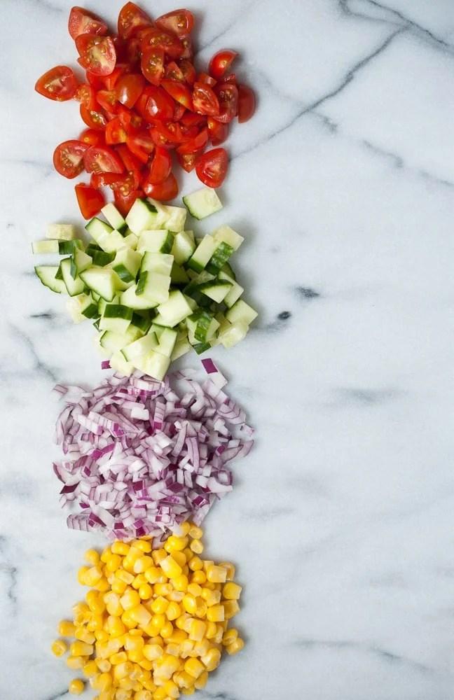 Simple Quinoa Salad-3