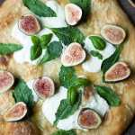 Fig & Buratta Pizza