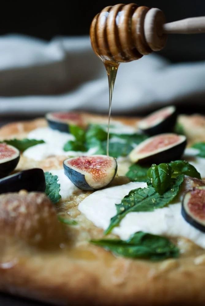 Fig & Buratta Pizza