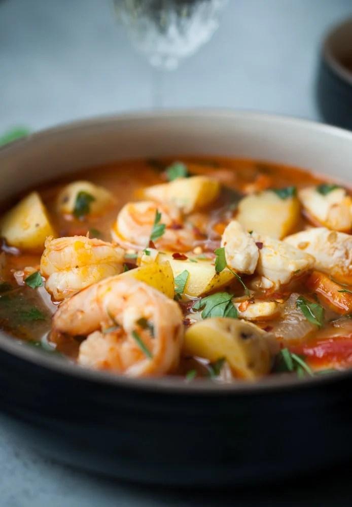 Seafood & Potato Stew