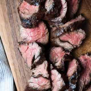 Balsamic Grilled Hanger Steak