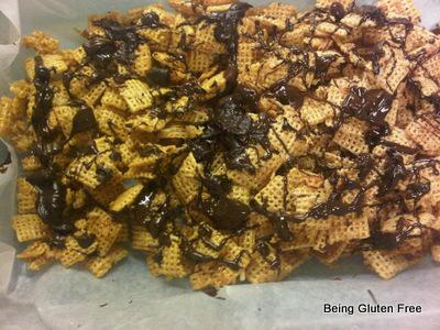 Gluten Free Chex Caramel Crunch