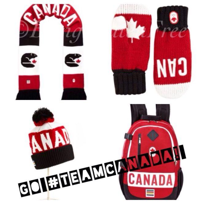 Yoplait Canadian Olympic gear