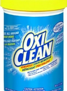 Entertaining is easy…when you have OxiClean to help clean up! #WOWOxiClean