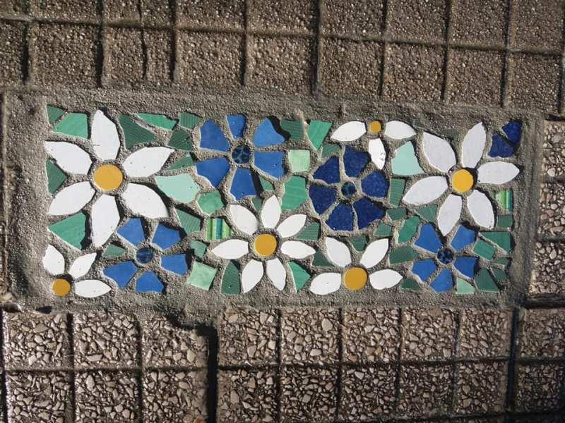 I tappeti di Irma. Mosaico di Irina Balaeva (Irma) a Messina