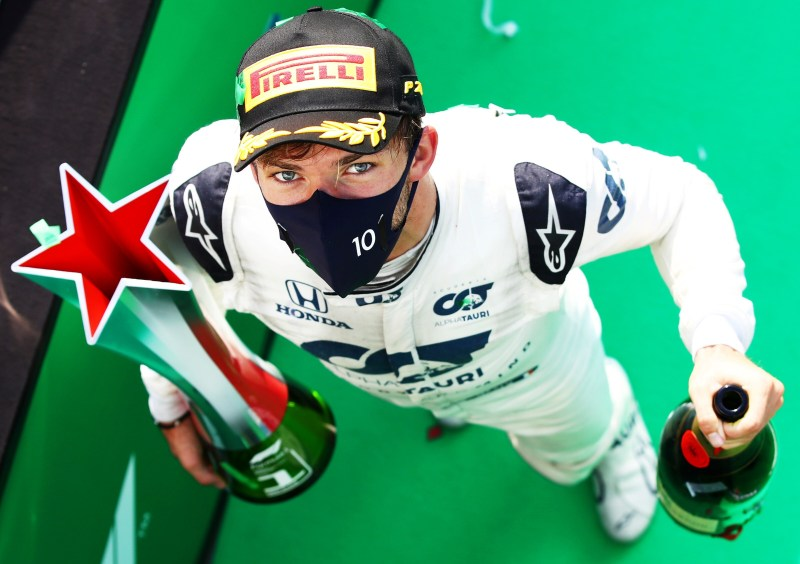 First F1 Win For Gasly At The Italian Grand Prix