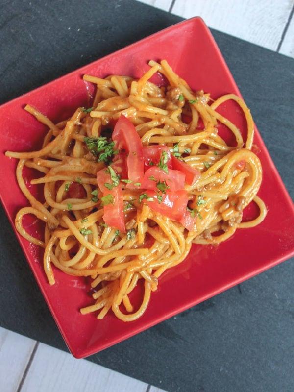easy taco spaghetti recipe