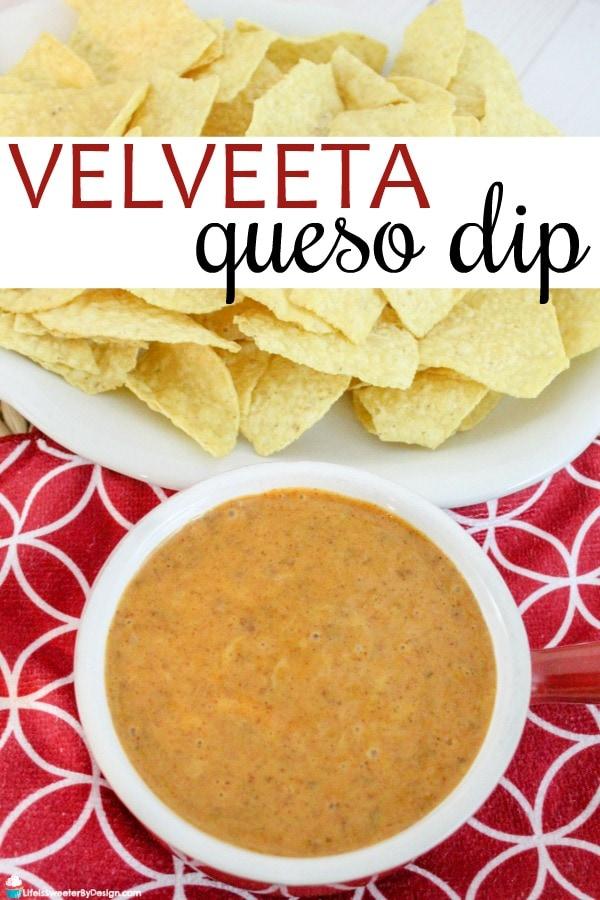 Velveeta Queso Dip Recipe