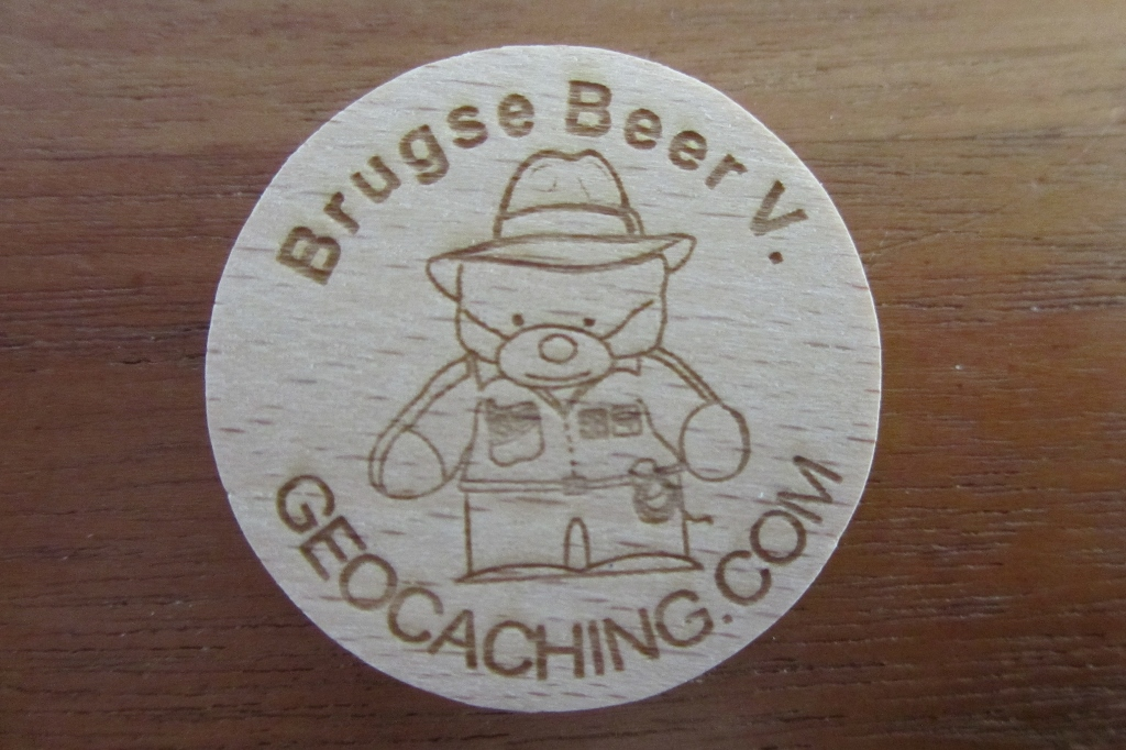 BB5 Wooden coin