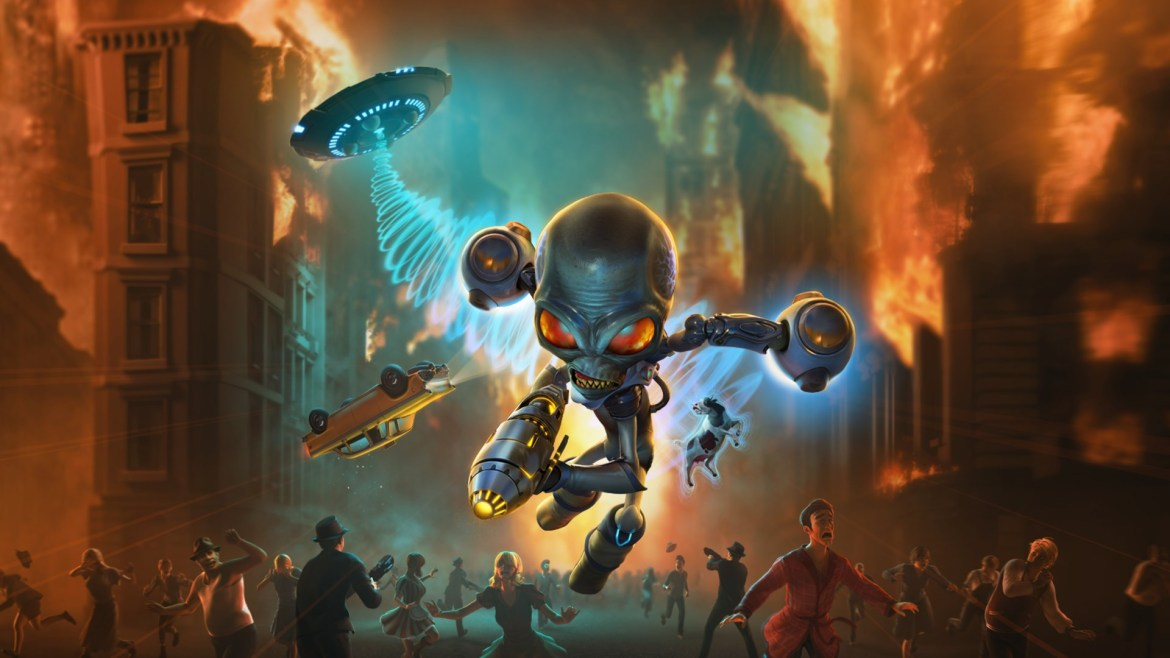 Review: Destroy All Humans!