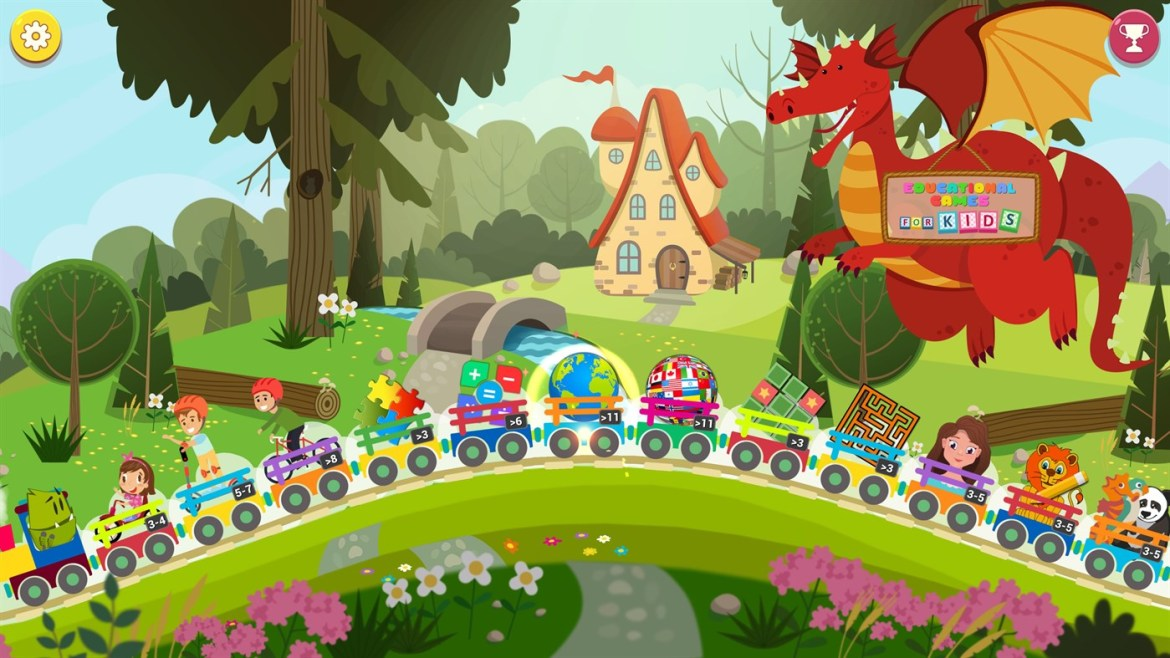Short review: Educational games for Kids