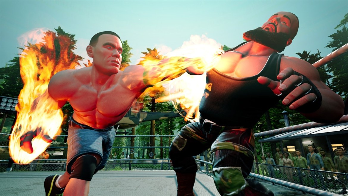 Review:  WWE 2K Battlegrounds