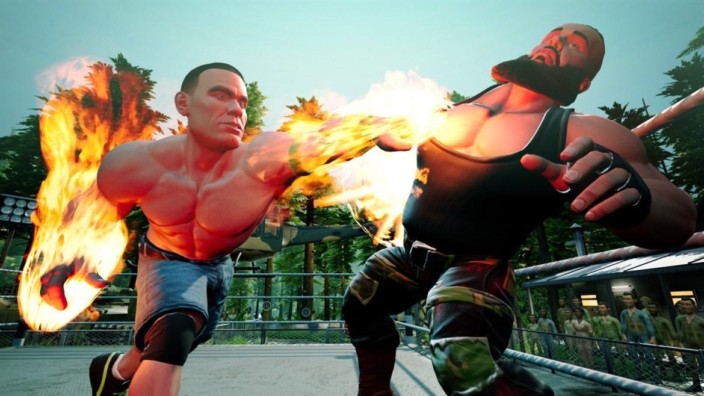 Review:  WWE 2K Battlegrounds