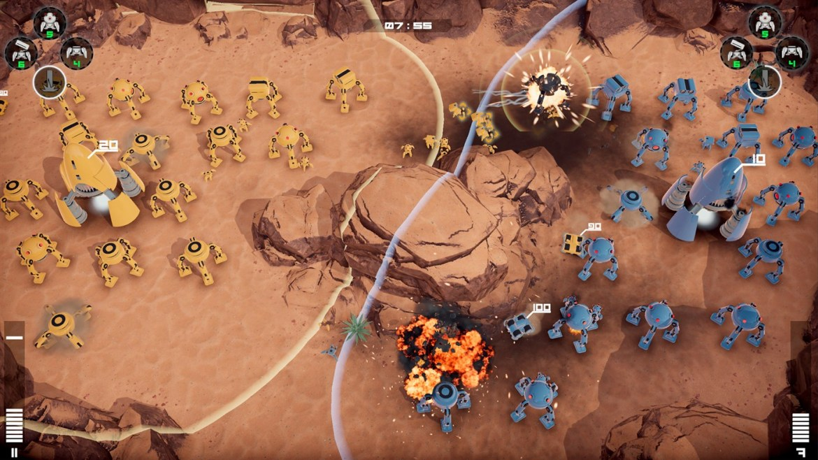 Review   Rover Wars: Battle for Mars