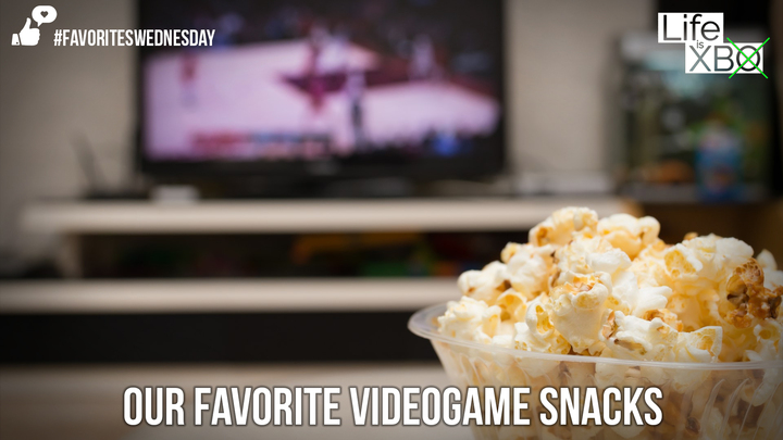 Favorites Wednesday | Game snacks