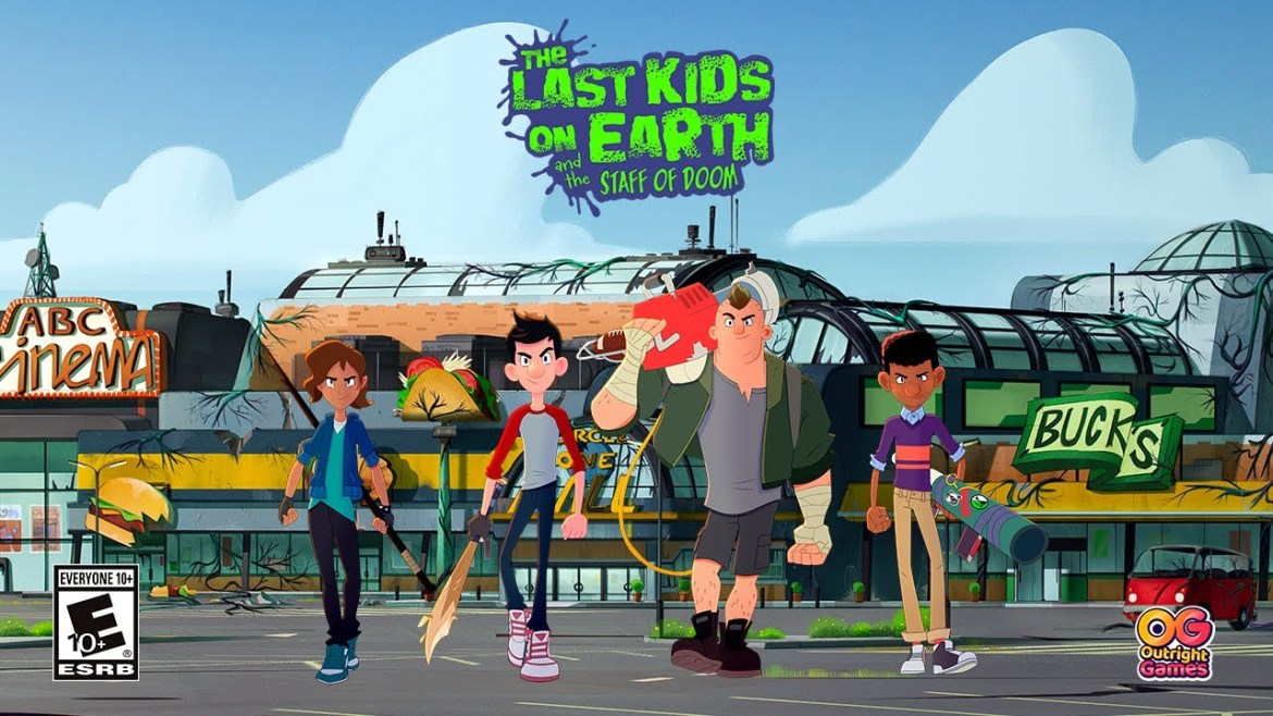 Review | The Last Kids on Earth and the Staff of Doom