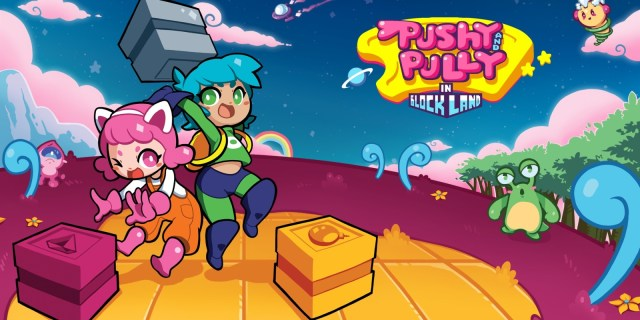 Review   Pushy and Pully in Blockland