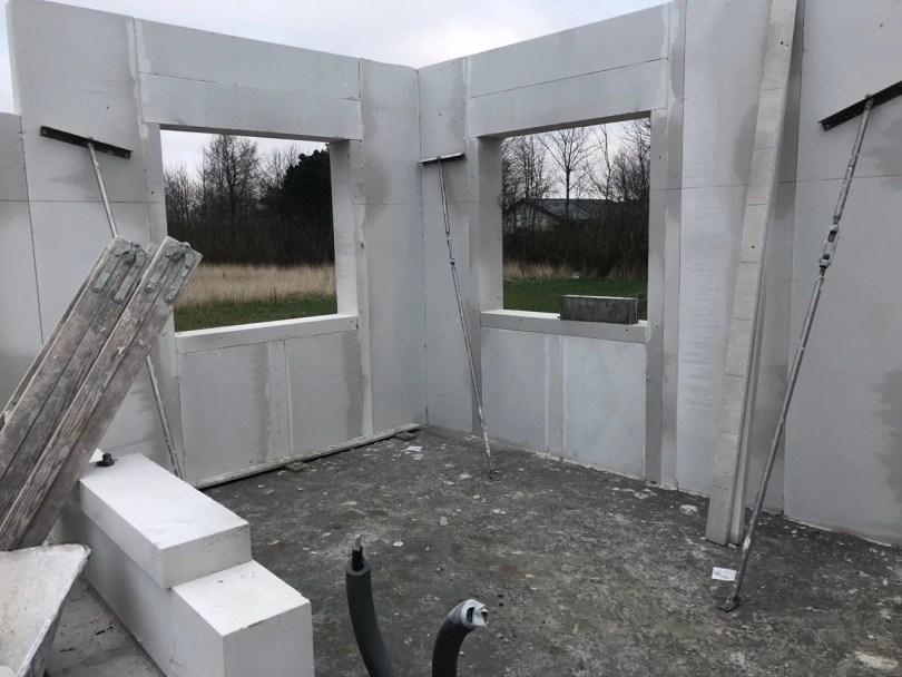 Opsætning af vægge