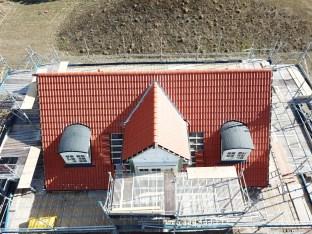 Drone billeder af lind og risør hus