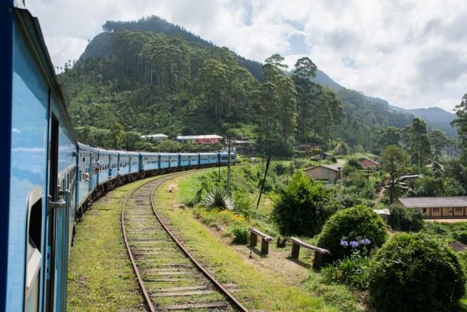 Sri Lanka trein