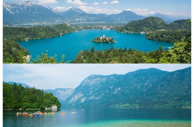 Slovenie bled of bohinj