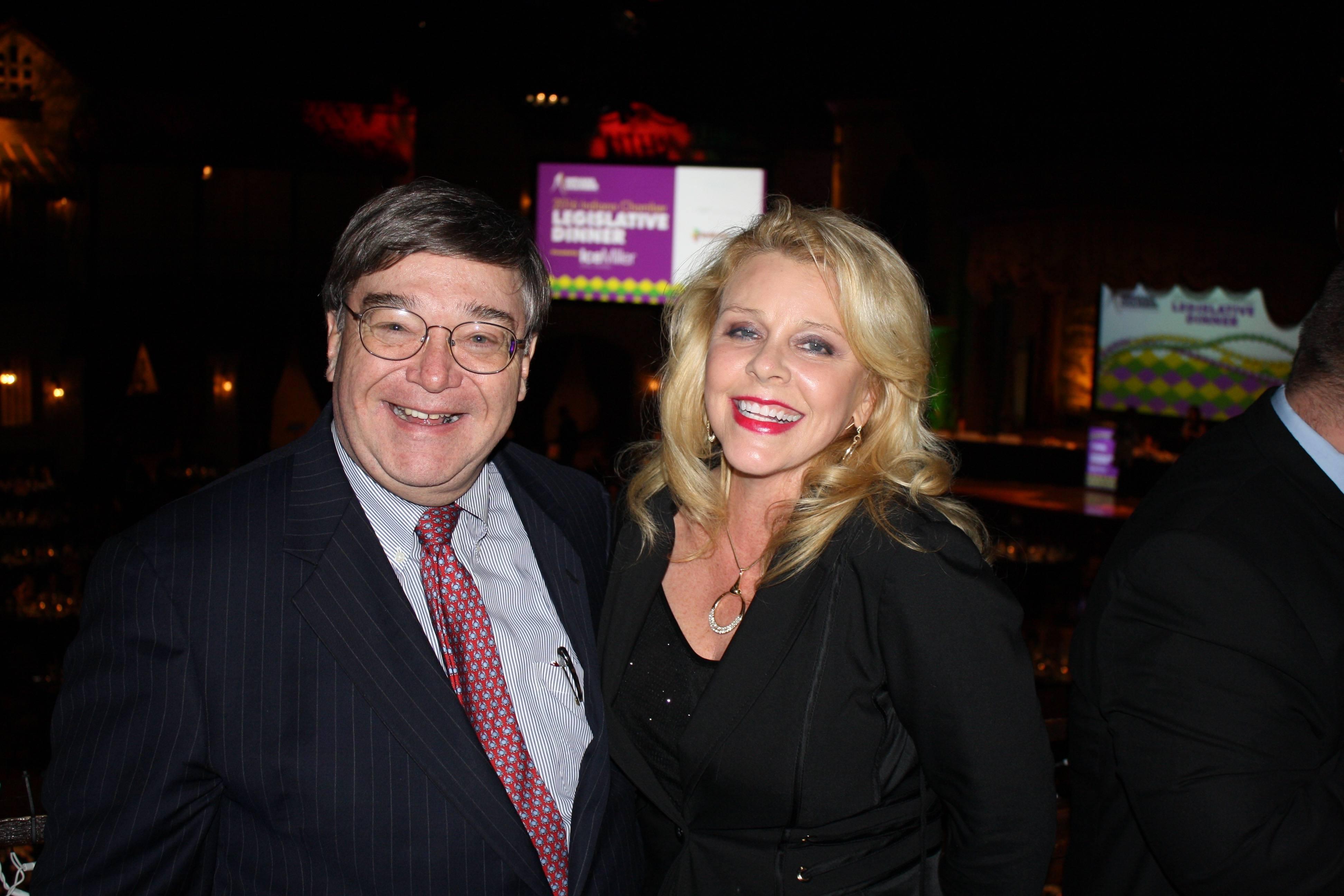 Charlie Cook and Dana Carroll