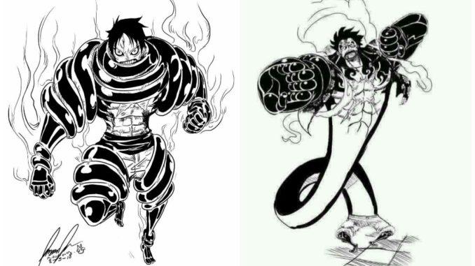 "Some of the notable attacks. 4 Prediksi ""Snake Man Luffy"", seperti ini kah perubahan ..."