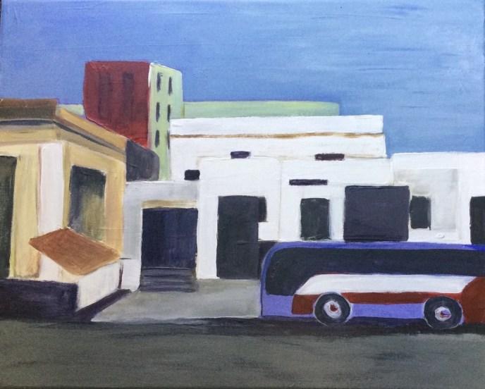 Havana Street (acrylic, 16x20) - NFS