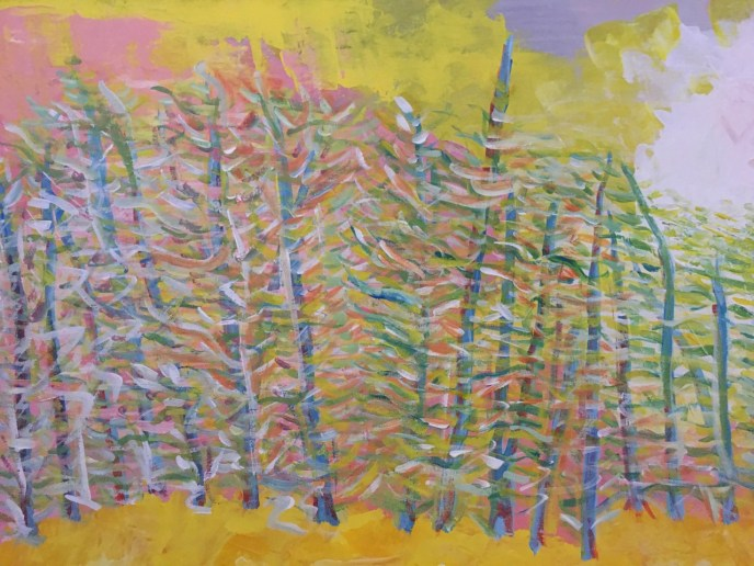 """Untitled"" (acrylic) - NFS"