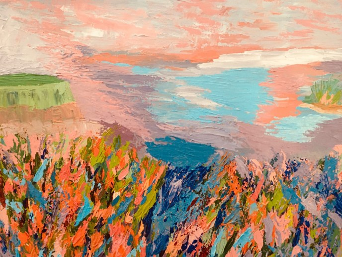 Untitled III (acrylic on canvas, 16x20) - Price Negotiable