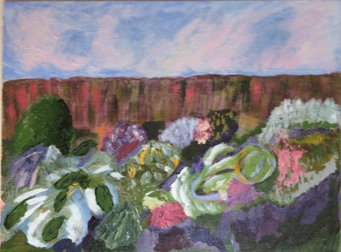 """""""My Garden"""" (acrylic) - NFS"""